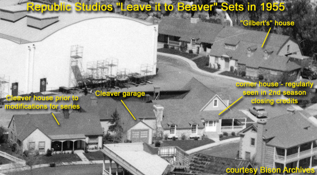 Leave It To Beaver On Universal City S Colonial Street And Beyond