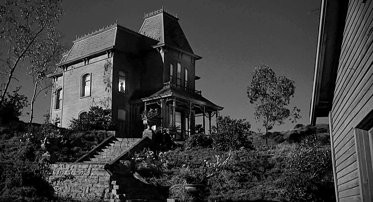 Image result for psycho 1960 house